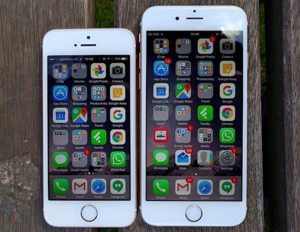 nên mua iphone se hay iphone 6 so sánh ngay