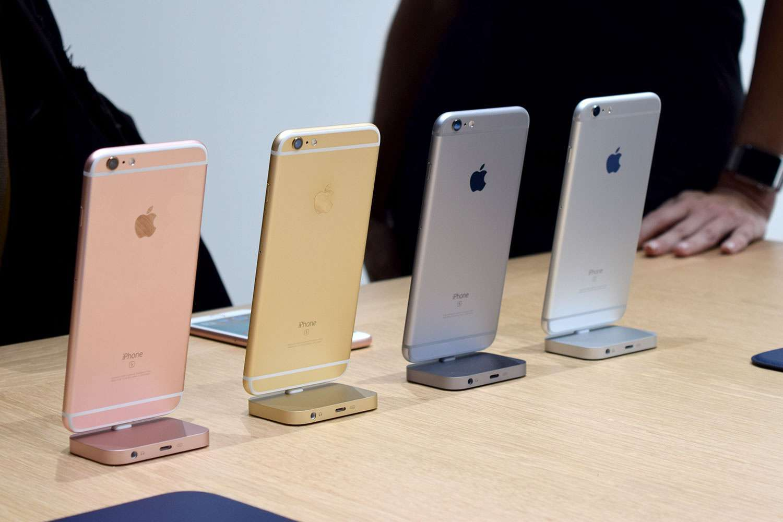 phân biệt iphone 6 và 6s qua màu sắc