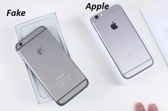 cách phân biệt iphone 6s thật và giả