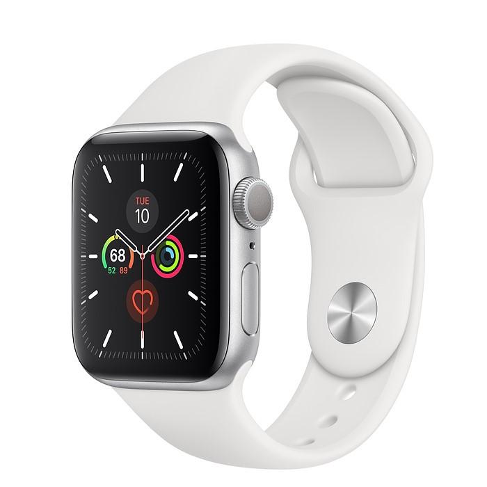 Apple Watch 5 44mm (GPS) Viền Nhôm – Dây Cao Su – Chưa Active Fullbox 100%
