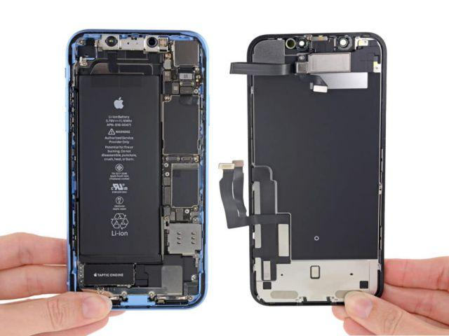 test pin iphone xr