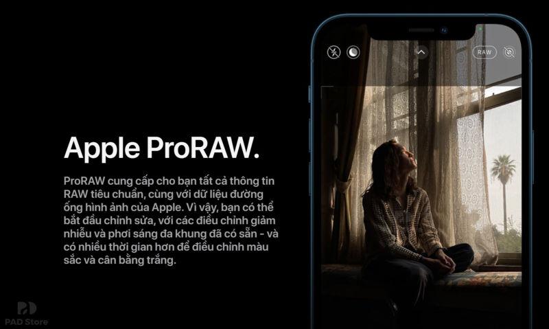 proraw ip12 pro max cũ 256gb