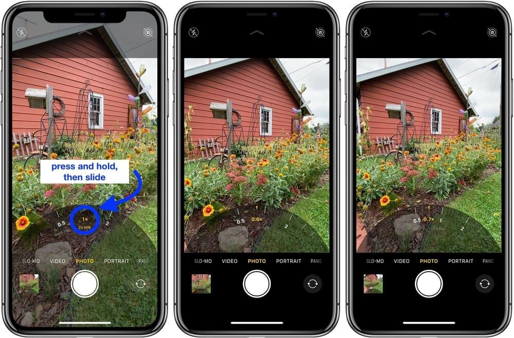 so sánh ảnh chụp trên iphone 11 và 11 pro