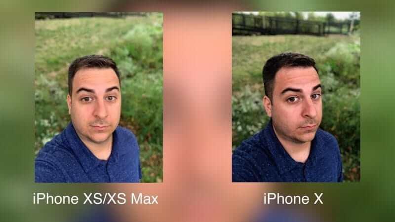 camera iphone x vs iphone xs max