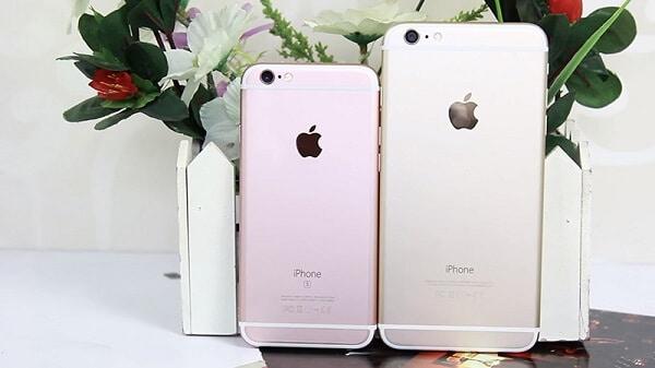 so sánh điện thoại iphone 6s và 6 plus