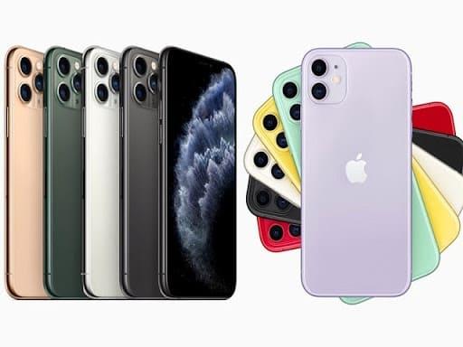 so sánh dung lượng lưu trữ iPhone 11 và Pro