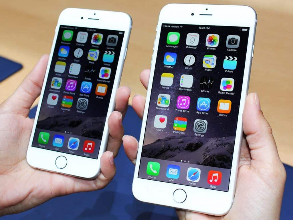 sự khác biệt giữa iphone 6s và 6s plus