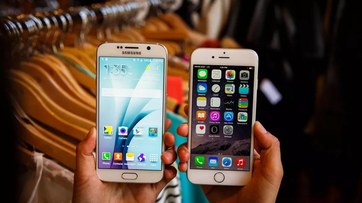 so sánh iphone 6 và s6