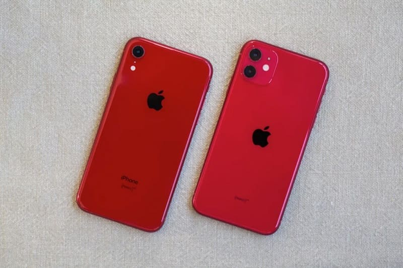 so sánh iphone 11 và iphone xr