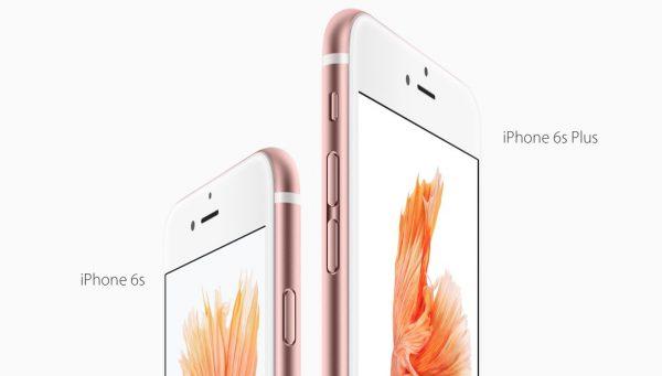 so sánh giữa iphone 6s và 6s plus