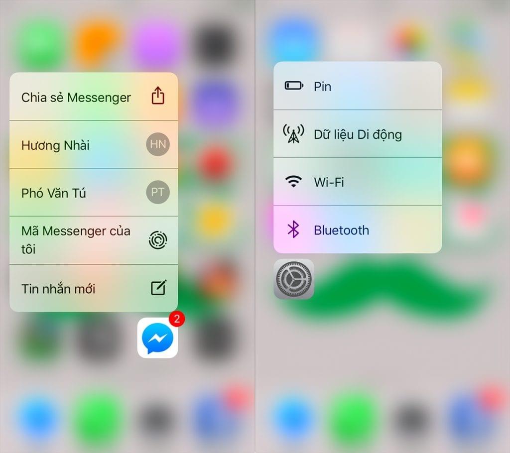 so sánh thông số iphone 6s và 6s plus