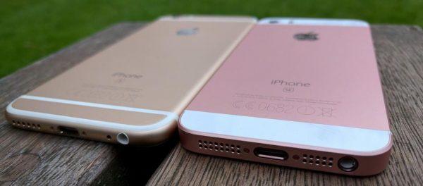 so sánh iphone se và 6s chuẩn nhất