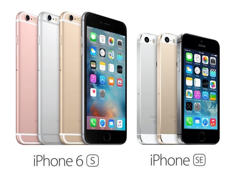 so sánh chi tiết iphone se và 6s