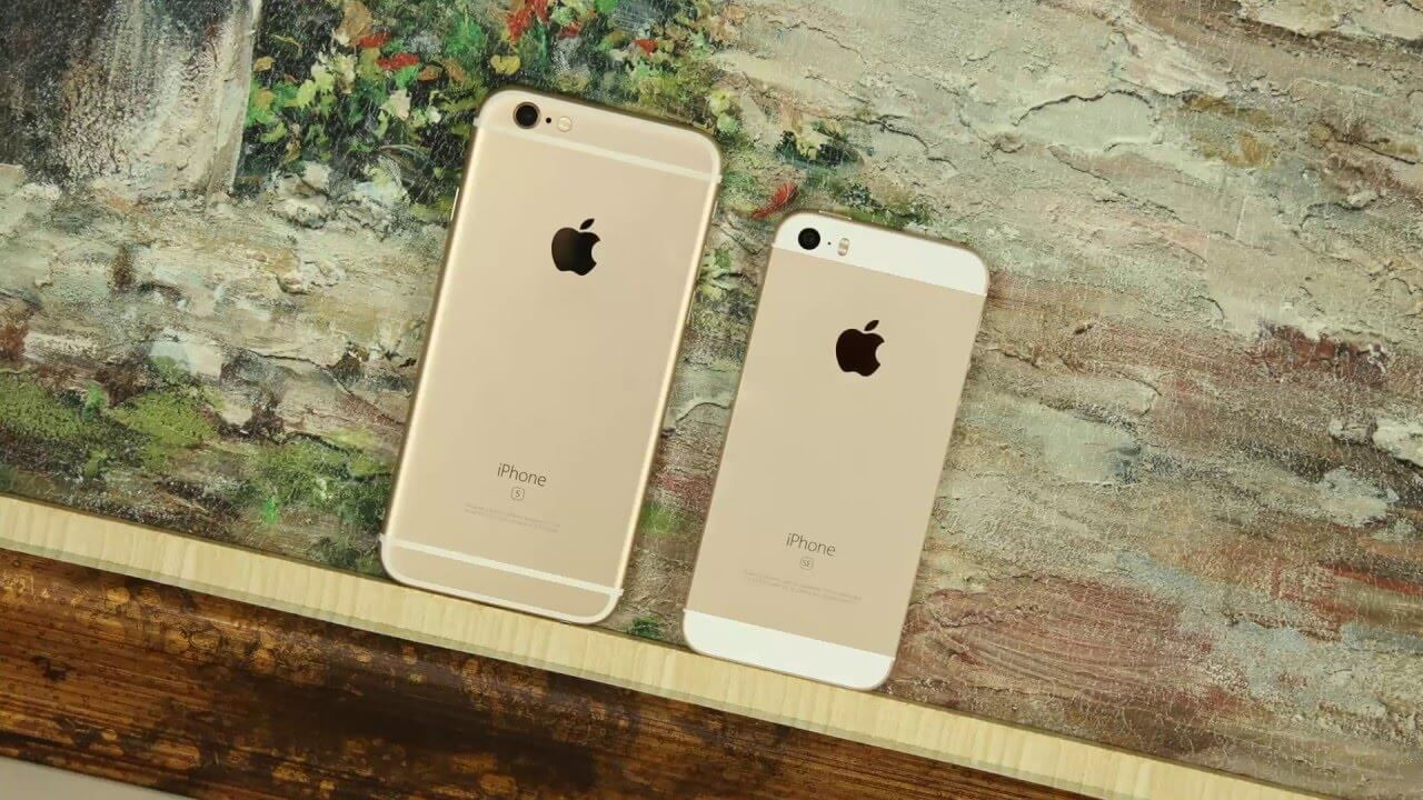 so sánh chi tiết iphone se và iphone 6s