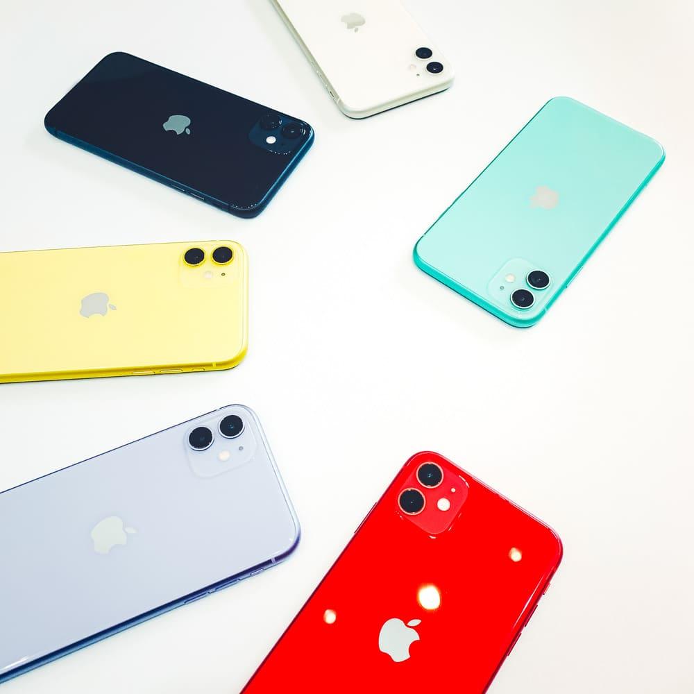 so sánh màu iphone 11 và 11 pro