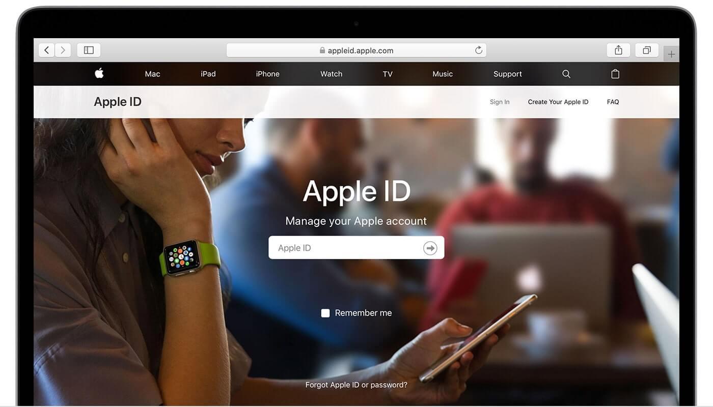 thay đổi mật khẩu id apple