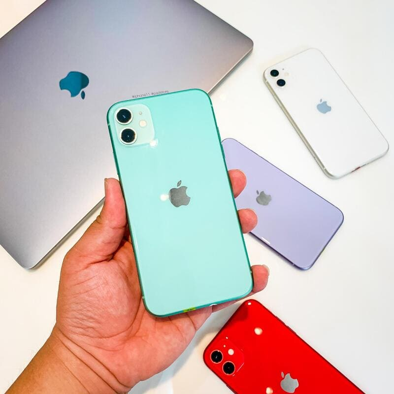 thiết kế iphone 11 64gb