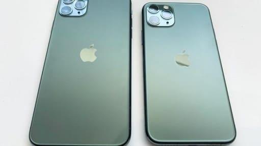 thiết kế iphone 11 pro max màu xanh