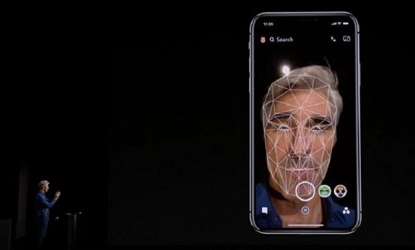 tính năng face id trên iphone xr trắng