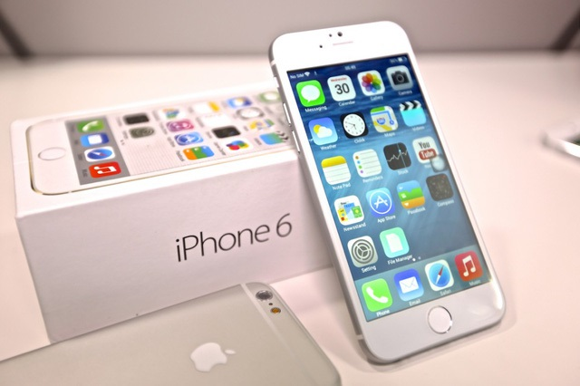 unbox iphone 6 mới