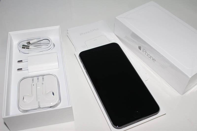 unboxing điện thoại ip 6 mới có gì