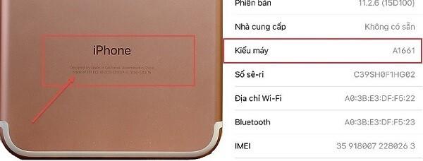cách kiểm tra thông tin iphone